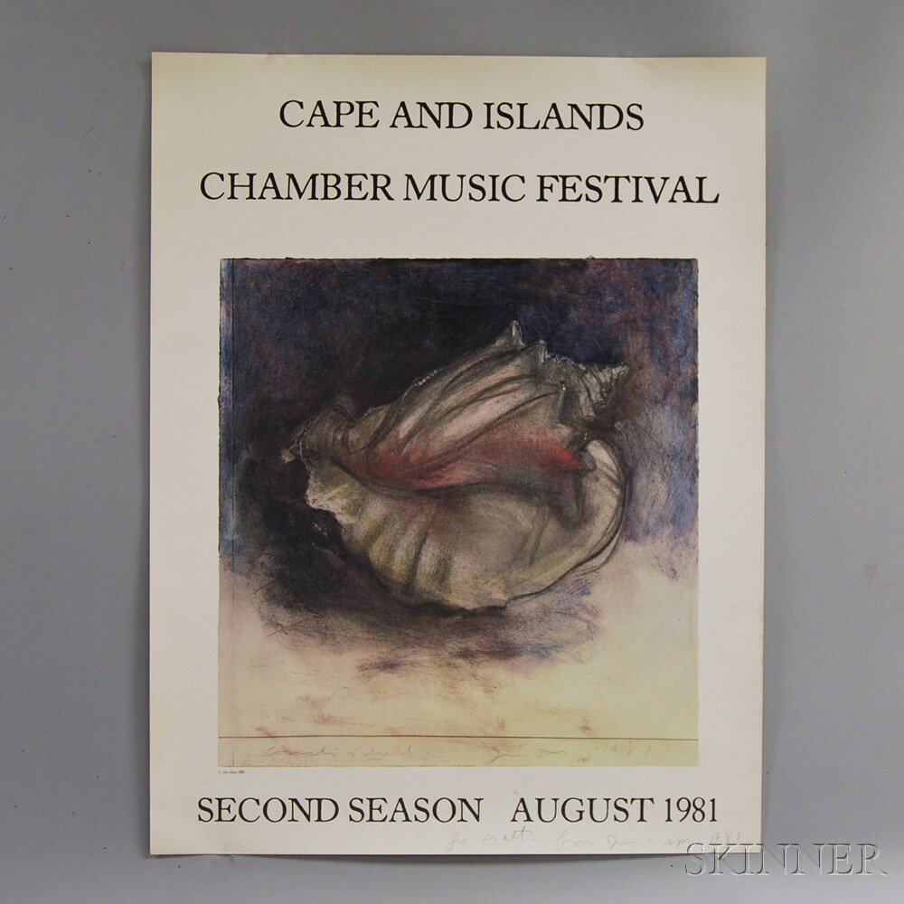 Attempted Bloggery: Jim Dine For The Cape And Islands