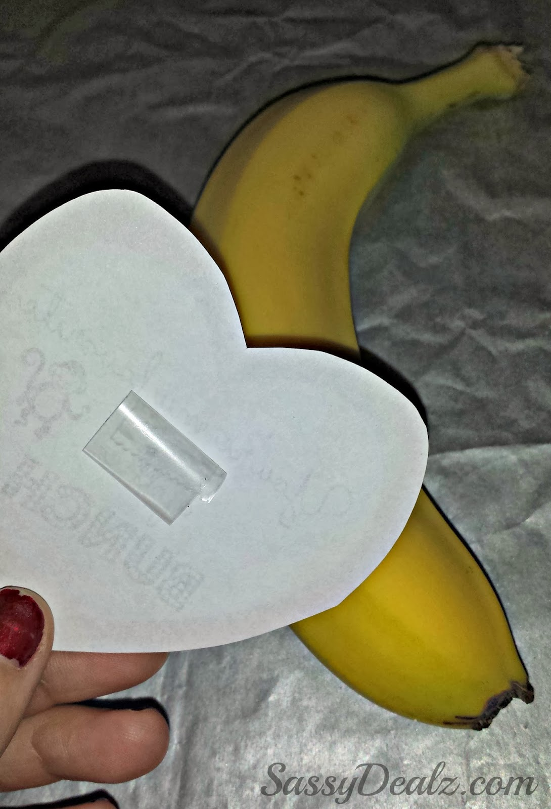 banana valentines day gift idea