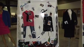 Semana de Moda - Exposição dos Alunos - Casualismo e Modernismo - Vitrine e Modelos