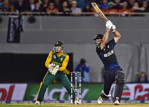 New Zealand won against South Africa by 4 wickets