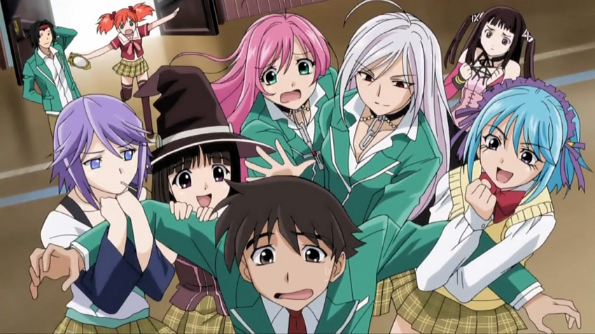 rosario%2Bvampire Rosario + Vampire Season 1 [ Subtitle Indonesia ]