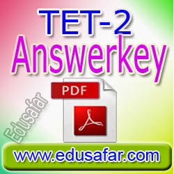 Provisional Answerkey TET-2  2014  Declared