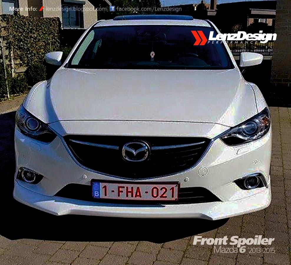 Mazda 6: Mazda 6 GJ Atenza Lenzdesign Bodykit & Spoilers 2013 2014
