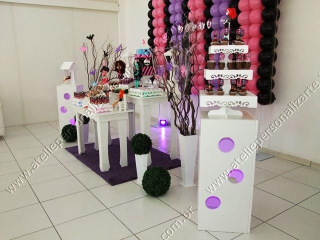 decoracao e personalização de festas ateliê personalizarte porto alegre
