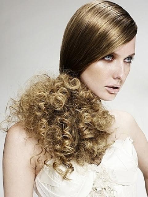 Side swept hair styles