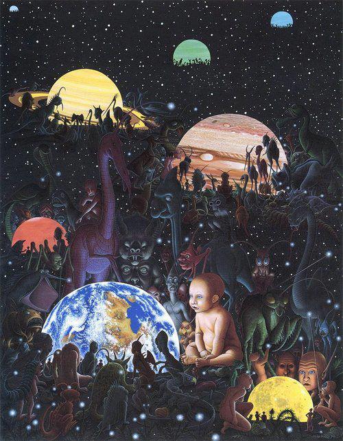 Resultado de imagen de Existen mundos que, ni podemos imaginar