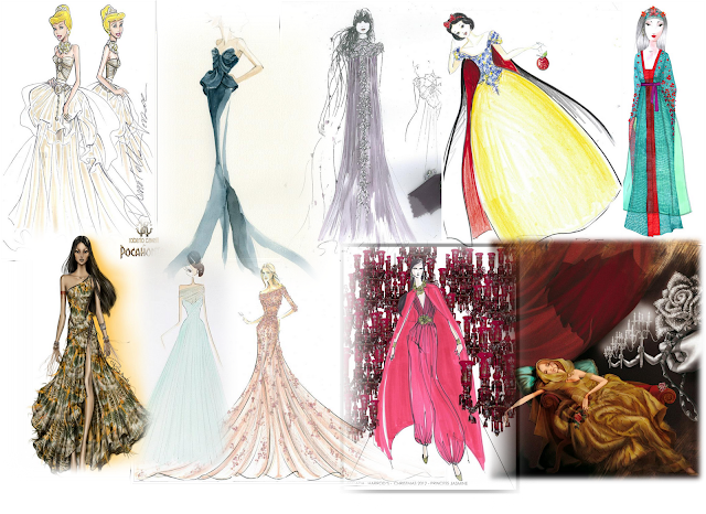 Flash post : Disney Princess by Harrods