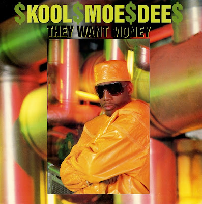 Kool Moe Dee ‎– They Want Money (1989, 12'') – VBR