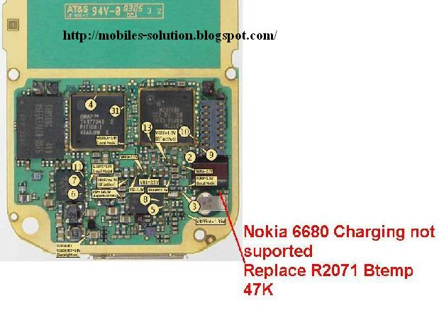 nokia 6680 charging not supported problem nokia 6680 charging problem