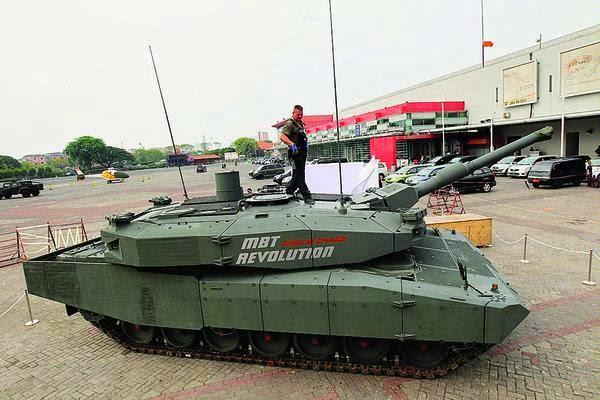 MBT Leopard 2A4 Revolution TNI AD