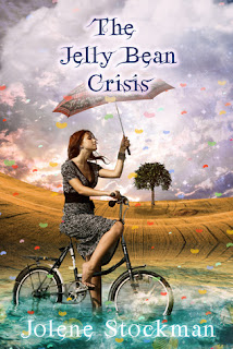 Novel cover of The Jelly Bean Crisis by Jolene Stockman.