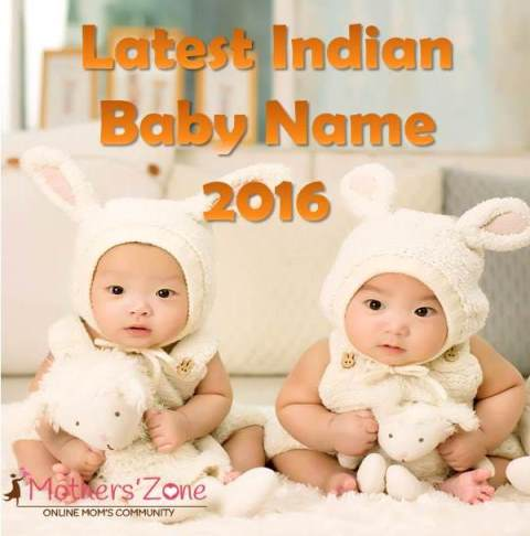Top modern indian baby names
