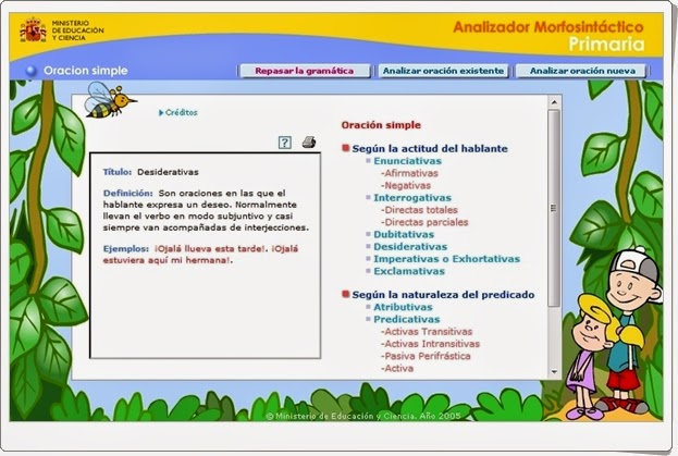 http://recursoseducativosdeprimaria.blogspot.com/2015/01/analizador-morfosintactico-de-primaria.html