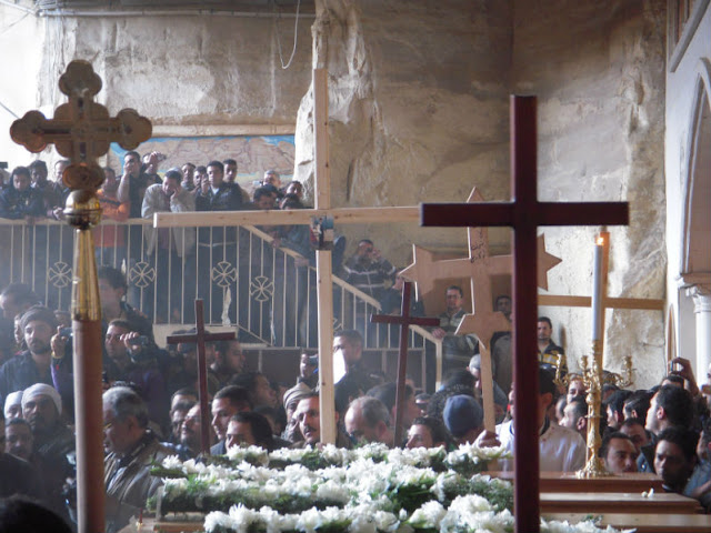 Iglesia Cueva Zabbaleen El Cairo San Simon