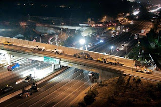 405 Freeway Construction Project in Los Angeles. Click to learn more...