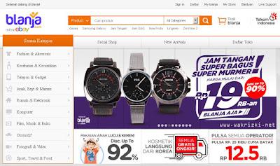 Belanja Online Aman & Menguntungkan, Hanya di Blanja.com