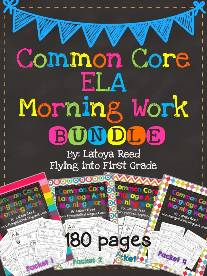 http://www.teacherspayteachers.com/Product/Morning-Work-Bundle-for-ELA-Common-Core-Entire-Year-1051322