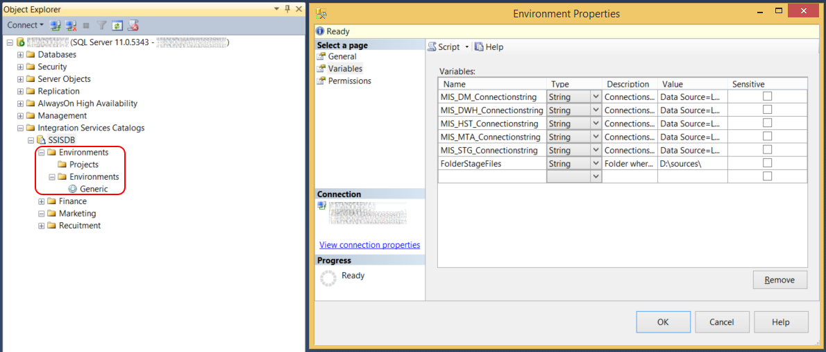 Microsoft SQL Server Integration Services: Deploying environments