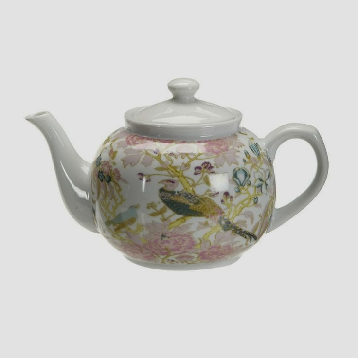 Butterfly Home Range by Matthew Williamson peacock teapot