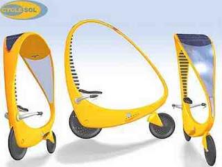 Solar Powered Electric Bike|Data 7 Konsep Sepeda Paling Unik Dan Kreatif