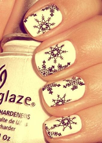 Christmas nail art - Χριστουγεννιάτικα σχέδια