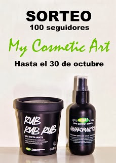 Sorteo de My Cosmetic Art
