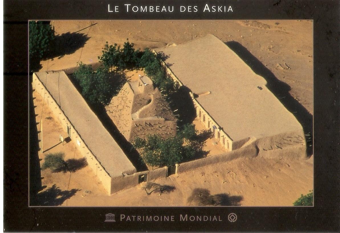 My UNESCO World Heritage Postcards: Mali - Tomb of Askia