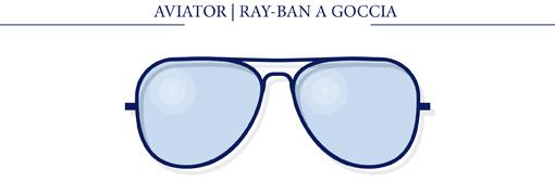 AVIATOR - RAY-BAN A GOCCIA