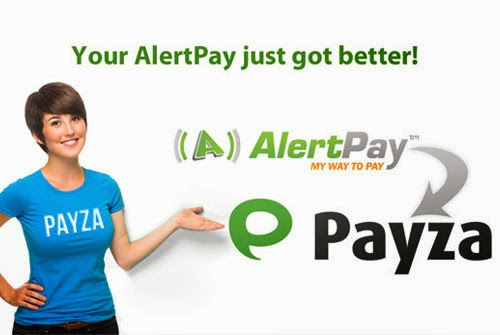 send and receive money by payza