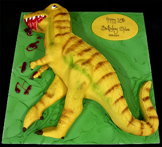 Dinosaur Birthday Cake Pictures