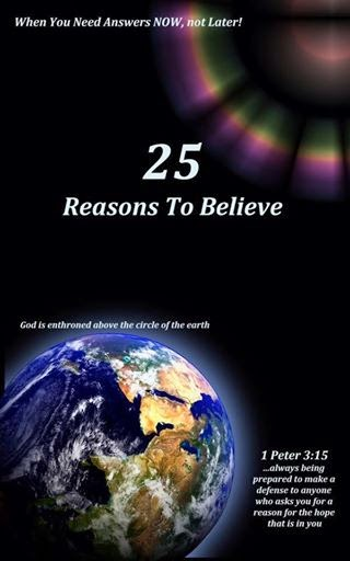 FREE EBOOK DOWNLOAD NOW - WHY CHRISTIANITY, 25 REASONS TO BELIEVE!