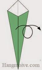 Bước 4: Lật mặt đằng sau ra đằng trước
