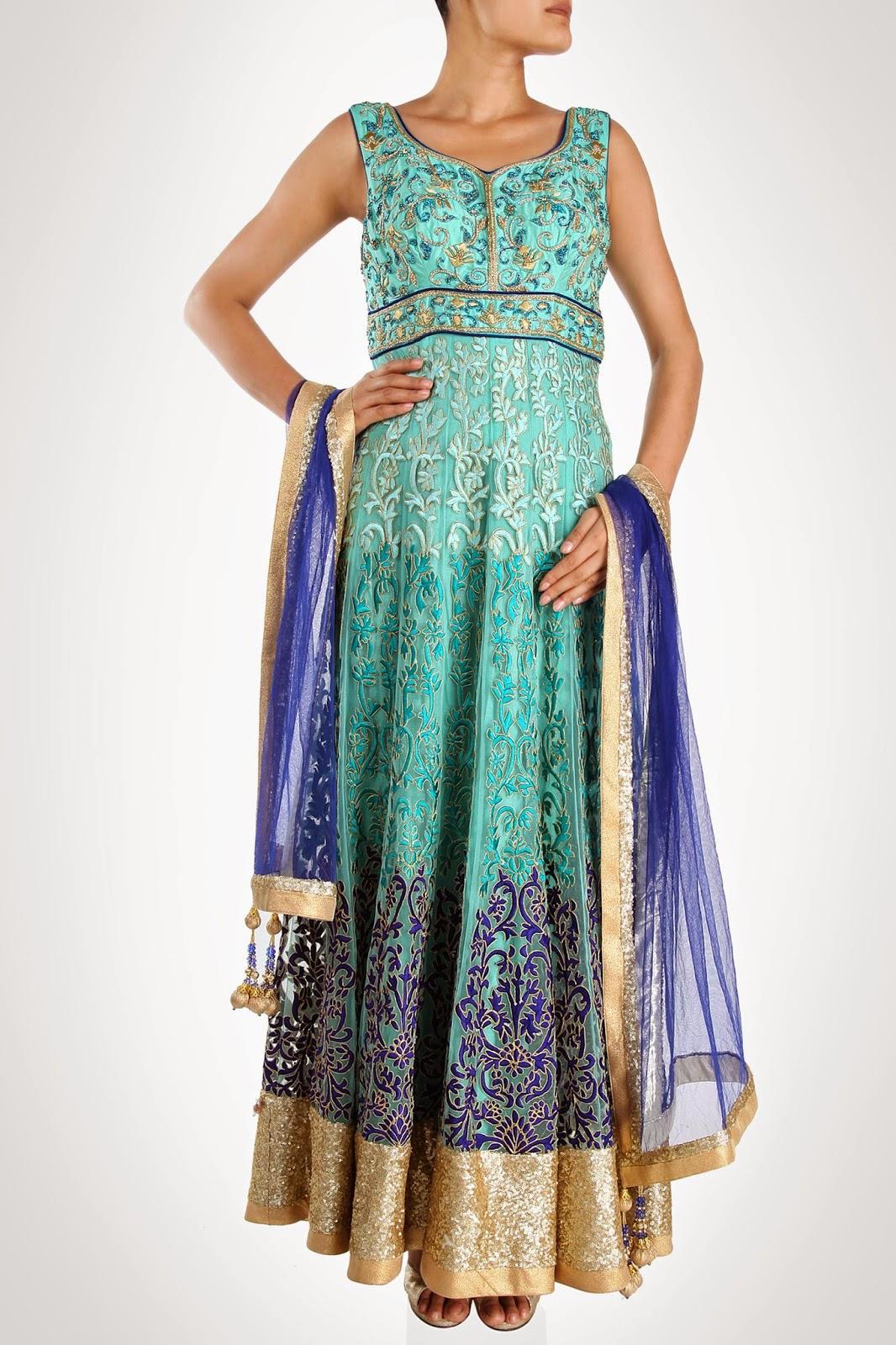 Manish Chotrani\'s Wedding Anarkali Suits Collection | All About Fashion
