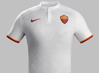 Jersey Tandang AS Roma 2015/2016 di enkosa sport toko online terpercaya