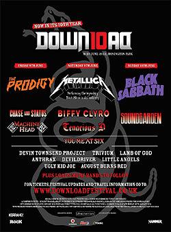 Saxon, Quireboys o Gun al Download Festival 2012