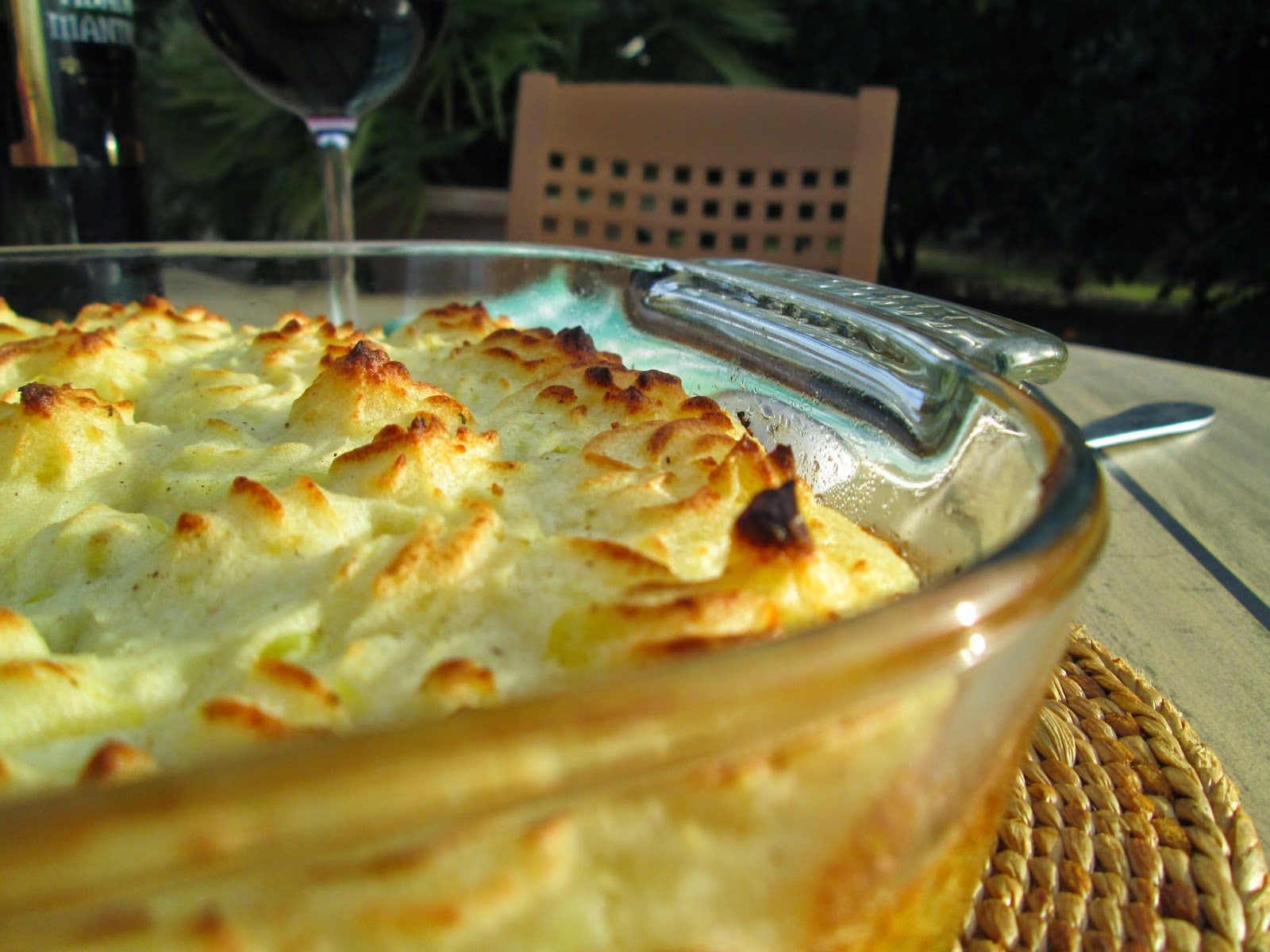 La cuisine de paqui gratinado de patatas y carne - Gratinado de patata ...