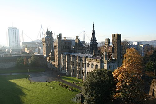 Cardiff Castle Morning