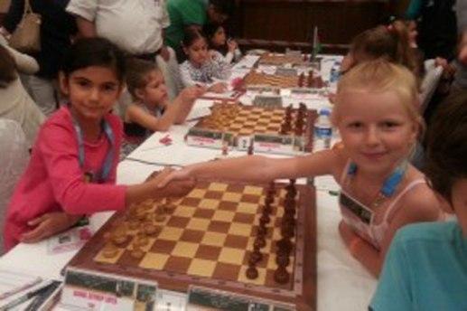 Олеся Власова на чемпионате Европы по шахматам среди юниоров