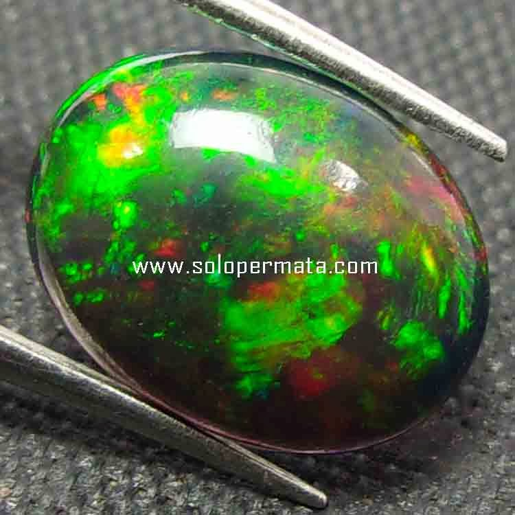 Batu Permata Natural Black Opal 359 Toko Batu Permata ... - photo#35