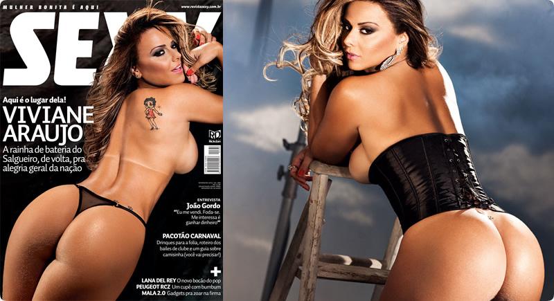 Sexy Fevereiro – Viviane Araújo