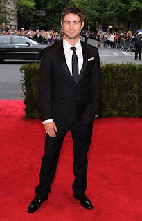 Chace Crawford in Met Gala 2012
