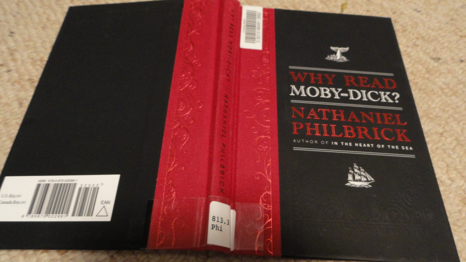 Dr tsais blog december 2011 this small booklet why read moby dick by nathaniel philbrick is a good example the cover see photo above is noble classy with dignity fandeluxe Images