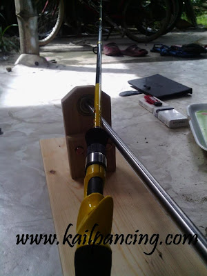 Joran Pancing Custom ROd
