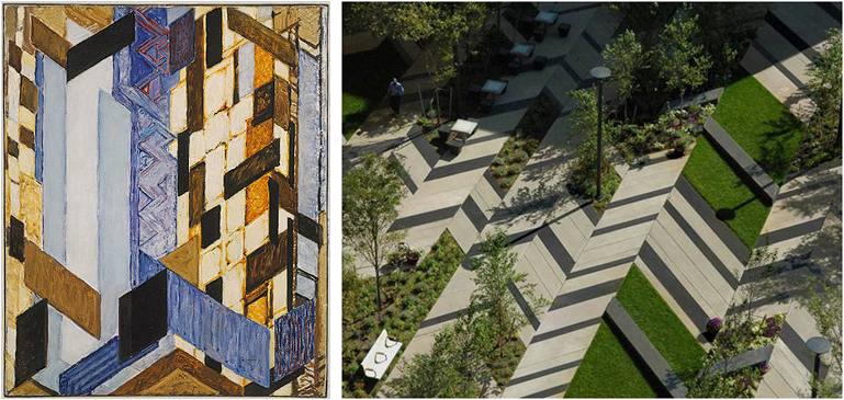 Paisajismo pueblos y jardines constructivismo y for Arquitectura de jardines