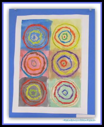 Kandinsky in Elementary Art via RainbowsWithinReach