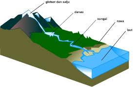 air permukaan : sungai, danau dan rawa