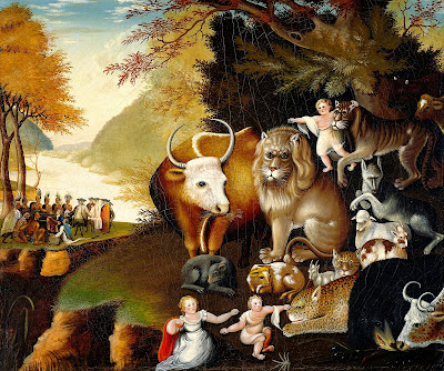 The Peaceable Kingdom Clip Art