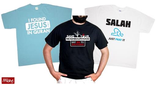 design molvi printed islamic tshirts