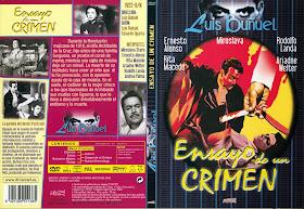 Carátulas de Ensayo de un crimen DVD 2