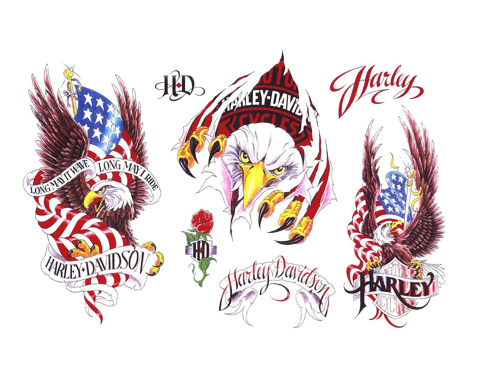 Harley davidson motorcycle harley davidson tattoo designs